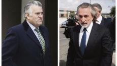 Luis Bárcenas (li) und Francisco Correa, Archivfotos: EFE