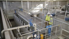 Die beiden im Bau befindlichen Kläranlagen sollen das Abwasserproblem im Güímar-Tal endlich beseitigen. Fotos:Cabildo de Tenerife