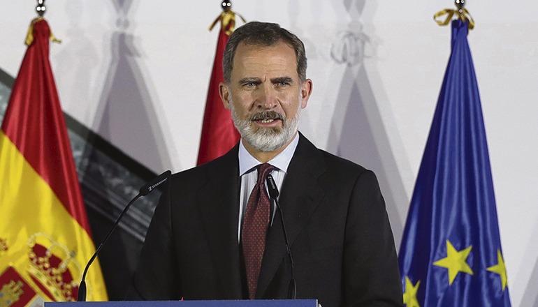 König Felipe bei einer Veranstaltung am 19. November Foto: efe