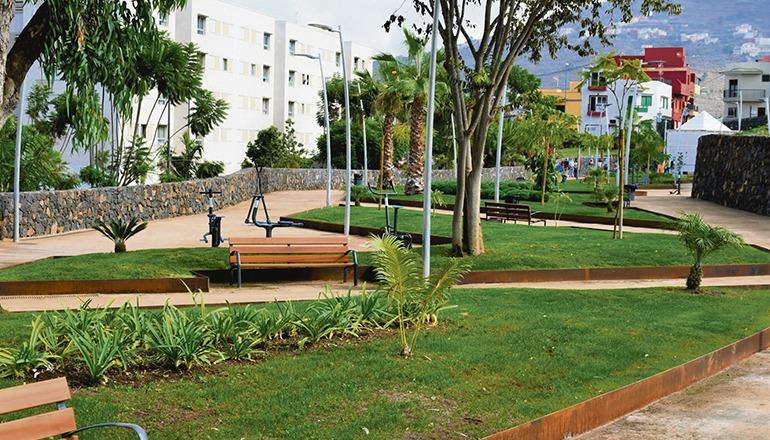 Der Park befindet sich neben der Urbanisation Opuntia. Foto: Ayto La Orotava