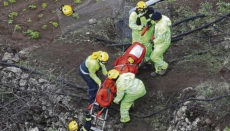 Die Bergung der Opfer gestaltete sich äußerst schwierig. Foto: EFE