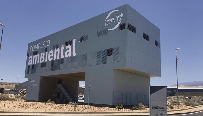 Das Mülltrennungszentrum Arico (Complejo Ambiental de Tenerife, CAT) erhält eine neue Recyclinganlage. Foto: Cabildo de Tenerife