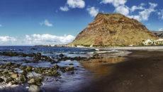Strand in Valle Gran Rey Foto: Cabildo de La Gomera