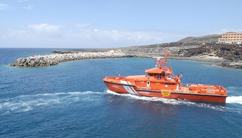 Ein Rettungsschiff suchte vergeblich nach der Patera, die die Teilnehmer der ARC gesichtet hatten. Foto: Cabildo de El Hierro
