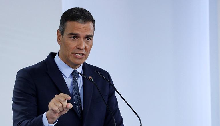 Sánchez erklärte, die Impfung müsse, um ihre Wirkung zu entfalten, schnell an möglichst viele Spanier verabreicht werden. Foto: EFE