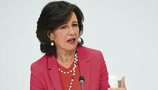 Ana Botín, Aufsichtsratsvorsitzende von Banco Santander Foto: efe