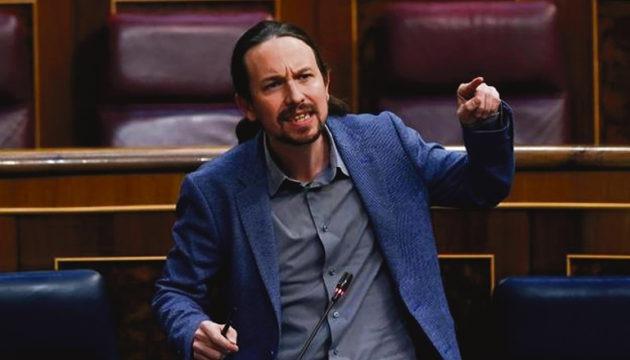 Pablo Iglesias (Unidas Podemos) Fotos: EFE