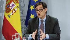 Gesundheitsminister Salvador Illa kandidiert bei den Regionalwahlen in Katalonien. Foto: efe