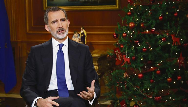 Quotenrekord: 10,7 Millionen Fernsehzuschauer sahen die diesjährige Weihnachtsansprache des spanischen Königs am Abend des 24. Dezember. Foto: efe