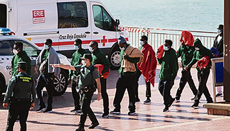 Die Guardia Civil beklagt über die spanische Vereinigung ihrer Polizeieinheit, AEGC, die Unterbesetzung auf den Kanarischen Inseln und fordert Unterstützung durch Bereitschaftspolizei. Foto: efe