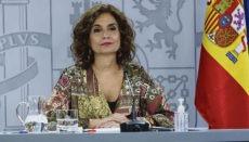 María Jesús Montero Foto: efe