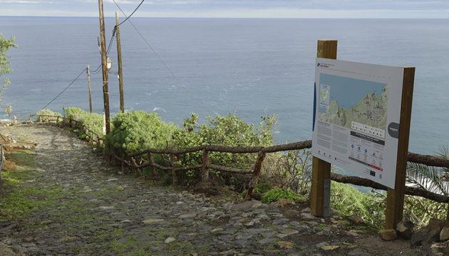 Neue Informationstafeln geben Spaziergängern Einblick in die Geschichte und die Natur. Foto: cabildo de tenerife