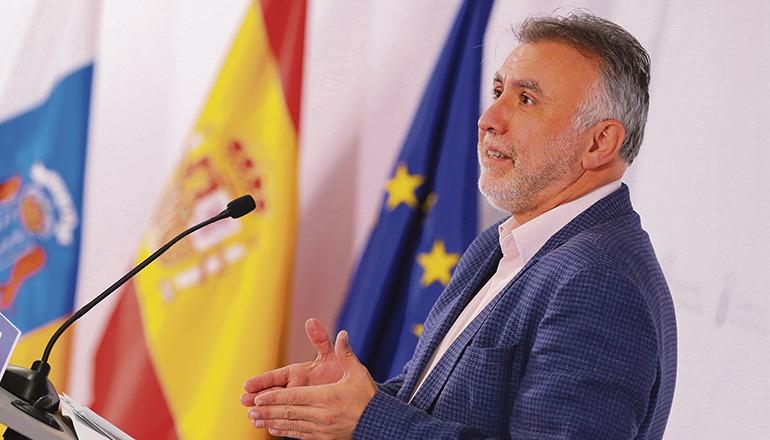 Kanarenpräsident Ángel Víctor Torres Foto: EFE