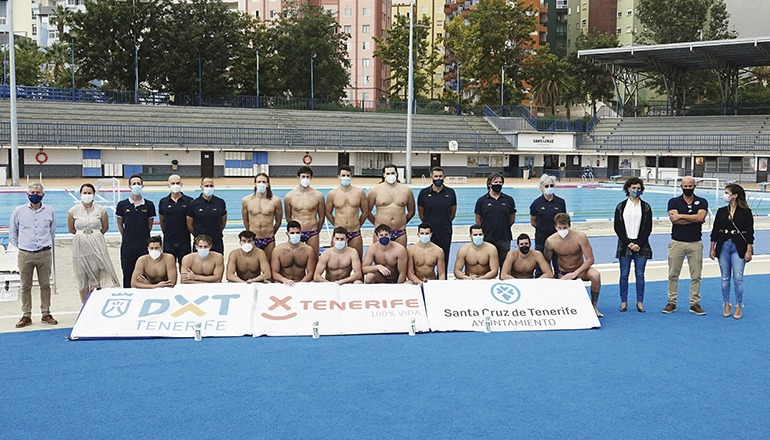 Die Nationalmannschaft, die amtierender Vizeweltmeister ist, begann in Santa Cruz de Tenerife die Vorbereitungen auf die Olympischen Sommerspiele in Tokio. Foto: ayto. sc