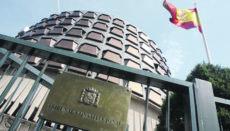 Das Verfassungsgericht – Tribunal Constitucional – in Madrid Foto: EFE