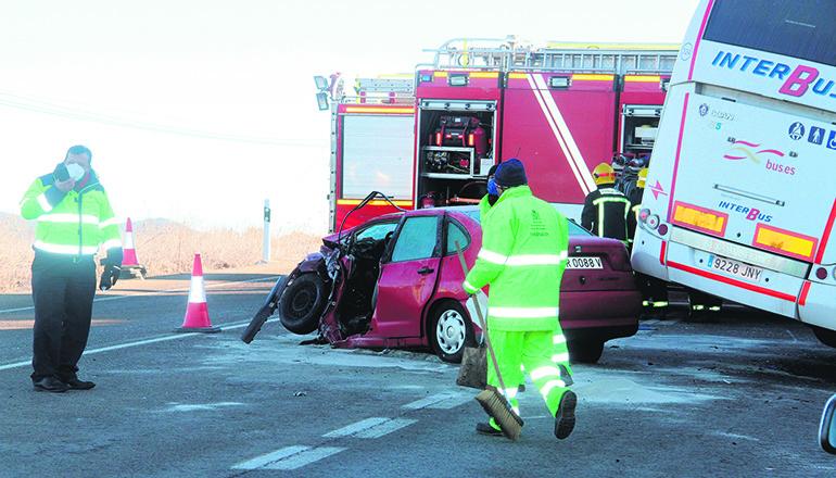 Im Jahr 2020 forderte der Straßenverkehr deutlich weniger Opfer als in den vorhergehenden Jahren. Foto: EFE