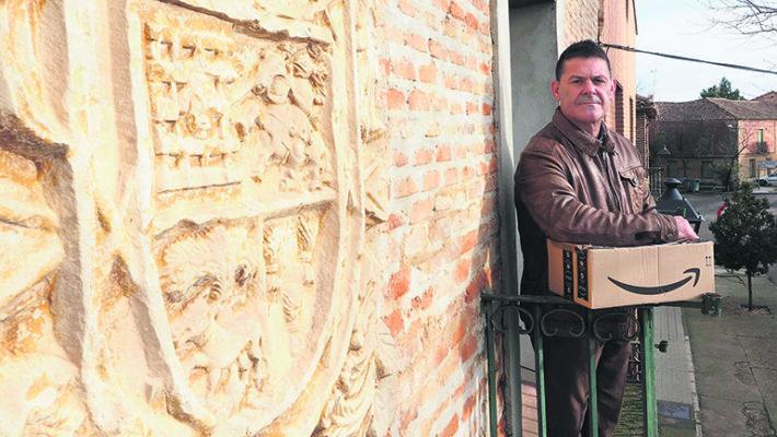 Miguel Ángel Gómez ist Bürgermeister der 500-Seelen-Gemeide Villafrechós. Foto: EFE
