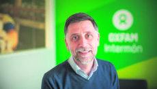 Franc Cortada, Direktor von Oxfam Intermón, forderte von der Politik, Schritte zu unternehmen, um die wachsende Verarmung aufzuhalten. Foto: Oxfam Intermón