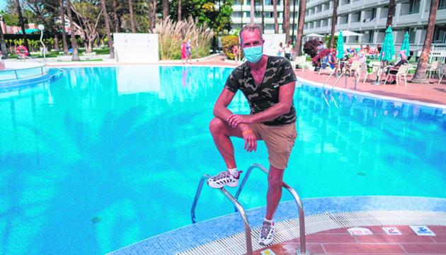 Wohnt seit drei Monaten im Playa del Sol: Martin Schouten Foto: efe