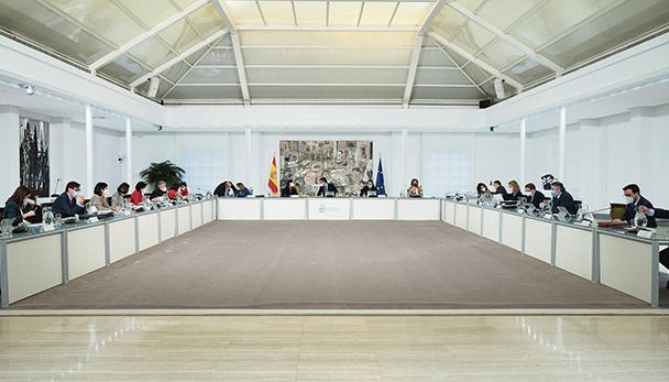 Der spanische Ministerrat beschloss am 26. Januar 2021 eine weitere Verlängerung der Schutzmaßnahmen für einkommensschwache Mieter bis zum Ende des Alarmzustandes am 9. Mai 2021. Foto: EFE