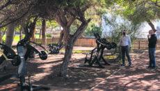 Trainingsgeräte im Parque Torre del Conde Foto: Ayto San Sebastián