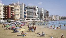 Playa El Acequión in Torrevieja Foto: EFE