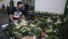 Viele Helfer befüllten die Kisten mit den Zutaten für den Eintopf, sodass es am 30. Januar in jedem Haushalt von La Florida nach puchero duftete. Fotos: noticia