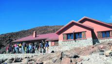 Die Schutzhütte Refugio de Altavista (Archivfoto) liegt auf 3.270 Metern Höhe auf dem Weg zum Pico del Teide. Foto: Moisés Pérez