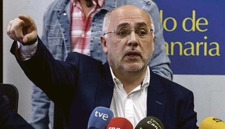 Antonio Morales, Präsident der Inselverwaltung von Gran Canaria Foto: EFE