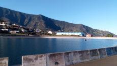 Das Wasserreservoir Cruz Santa in Los Realejos ist gut gefüllt. Foto: WB