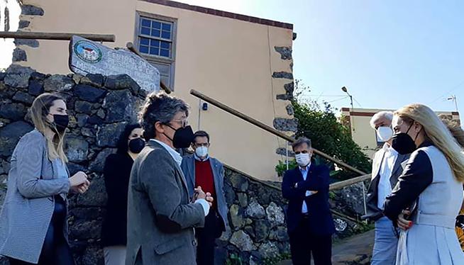 Die Beratungsstelle der Krebshilfe wurde vor Kurzem auf El Hierro eröffnet. Foto: Cabildo El Hierro