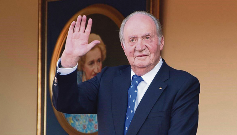 König Juan Carlos (Archivbild) Foto: EFE