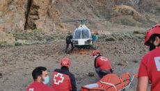 Guardia Civil und Rotes Kreuz bei dem Rettungseinsatz. Fotos: noticia / moisés perez