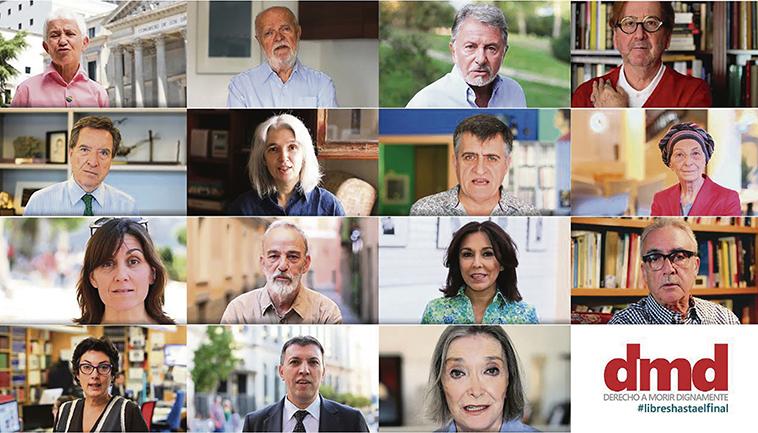 Der Verein Derecho a Morir Dignamente, Recht auf würdiges Sterben, ist als gemeinnützig anerkannt. Foto: DMD