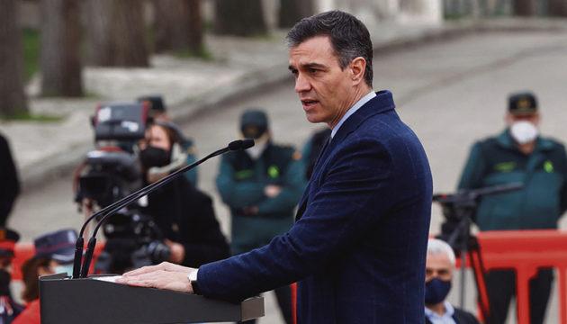 Pedro Sánchez in Valdemoro Fotos: EFE
