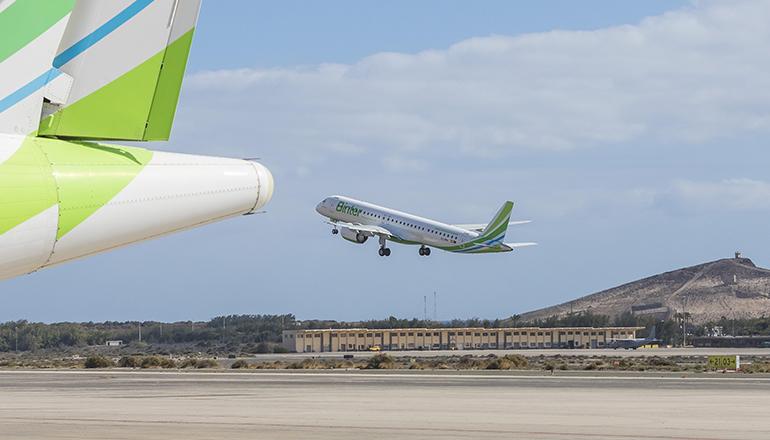 Binter Canarias fliegt bald wieder Ziele in Marokko und im Senegal an. Foto: Binter Canarias