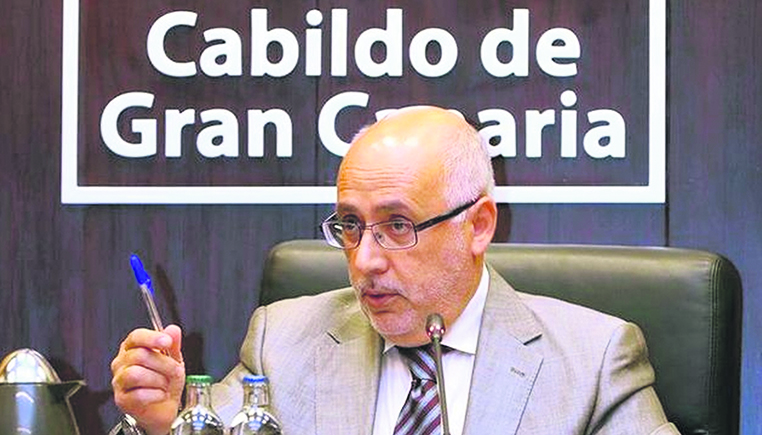 Antonio Morales, Cabildopräsident von Gran Canaria Foto: Cabildo de Gran Canaria