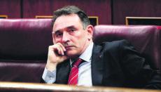 Enrique Santiago, Generalsekretär der Kommunistischen Partei Spaniens PCE Foto: EFE