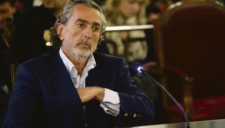 "Francisco Correa ist der Kopf des Korruptionsnetzes ""Gürtel"". Foto: EFE"