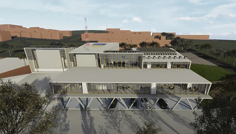 Die neuen Gebäude für die Rettungs- und Katastrophendienste sollen Erdbeben, Vulkanausbrüchen und schweren Unwettern trotzen können. Foto: gobierno de canarias