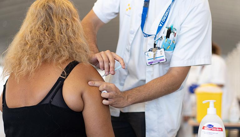 Impfung Recinto Ferial EFE/Ramón de la Rocha