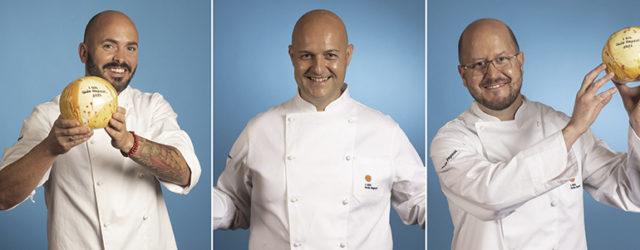 Víctor Suárez (Haydée), Andrea Bernardi (NUB), Seve Díaz (El Taller de Seve Díaz). Fotos: Guía Repsol