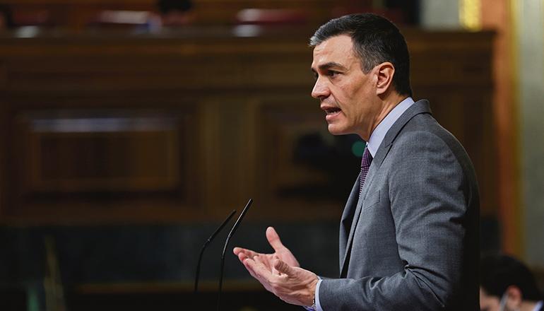 Während Spanien mit der vierten Corona-Welle kämpft, kündigte Pedro Sánchez an, den Alarmzustand nicht zu verlängern. Foto: efe