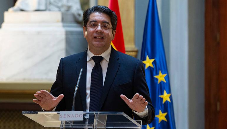 Pedro Martín, Präsident der Inselverwaltung von Teneriffa Foto: Cabildo de Tenerife