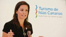 Yaiza Castilla erklärte, dass die niedrige 7-Tage-Inzidenz auf den Kanarischen Inseln, die seit dem 28. April unter 50 liegt, es ermöglicht hat, dass die Inseln in Deutschland nicht mehr auf der Liste der Risikogebiete stehen. Foto:Gobierno de Canarias