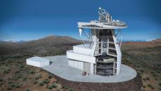 Das Europäische Sonnenteleskop EST auf La Palma wird mit einem Spiegel von 4,2 Metern Durchmesser das größte seiner Art in Europa sein. Foto: gabriel Pérez Díaz_IAC