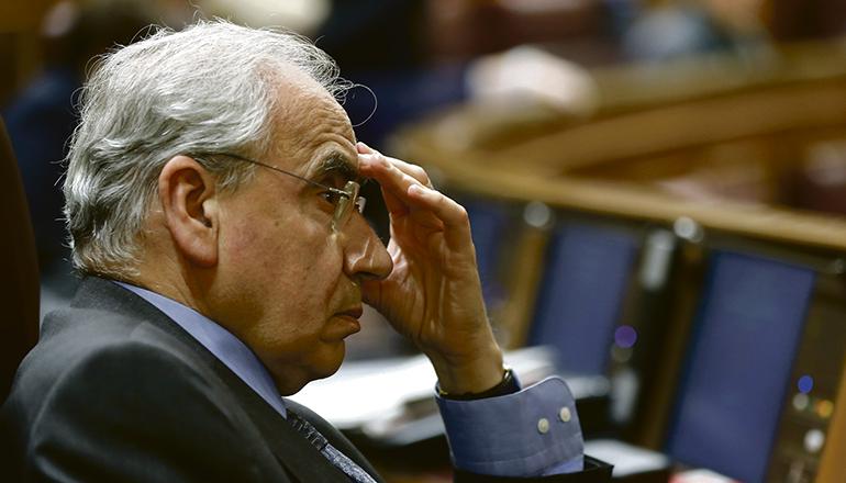 Alfonso Guerra war unter Felipe González von 1982 bis 1991 Vizepräsident. Foto: EFE