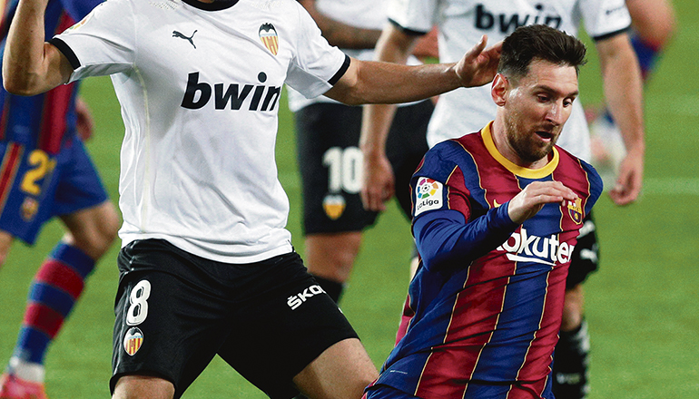 Fußballstar Leo Messi hat ein fast 1.000 qm großes Penthouse in Miami erworben. Foto: EFE