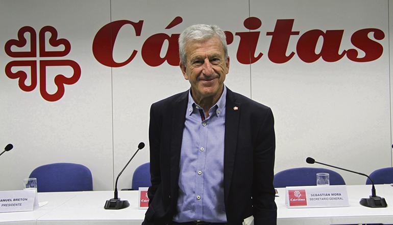 Manuel Bretón, Präsident der Caritas in Spanien Foto: CARITAS