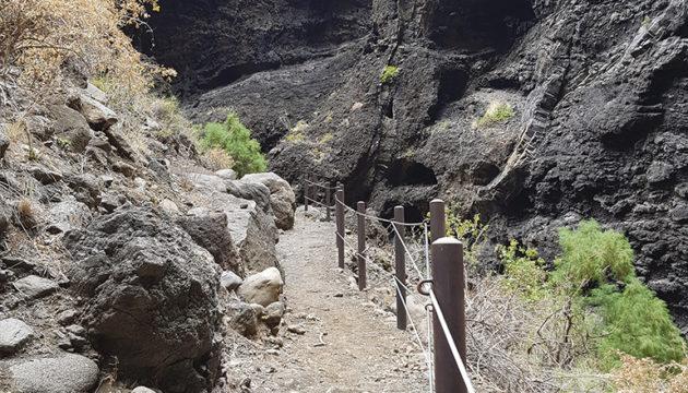 Der Wanderweg von Masca wurde Instand gesetzt.